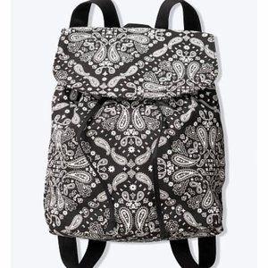 NWT PINK Victoria's Secret Paisley Mini Backpack